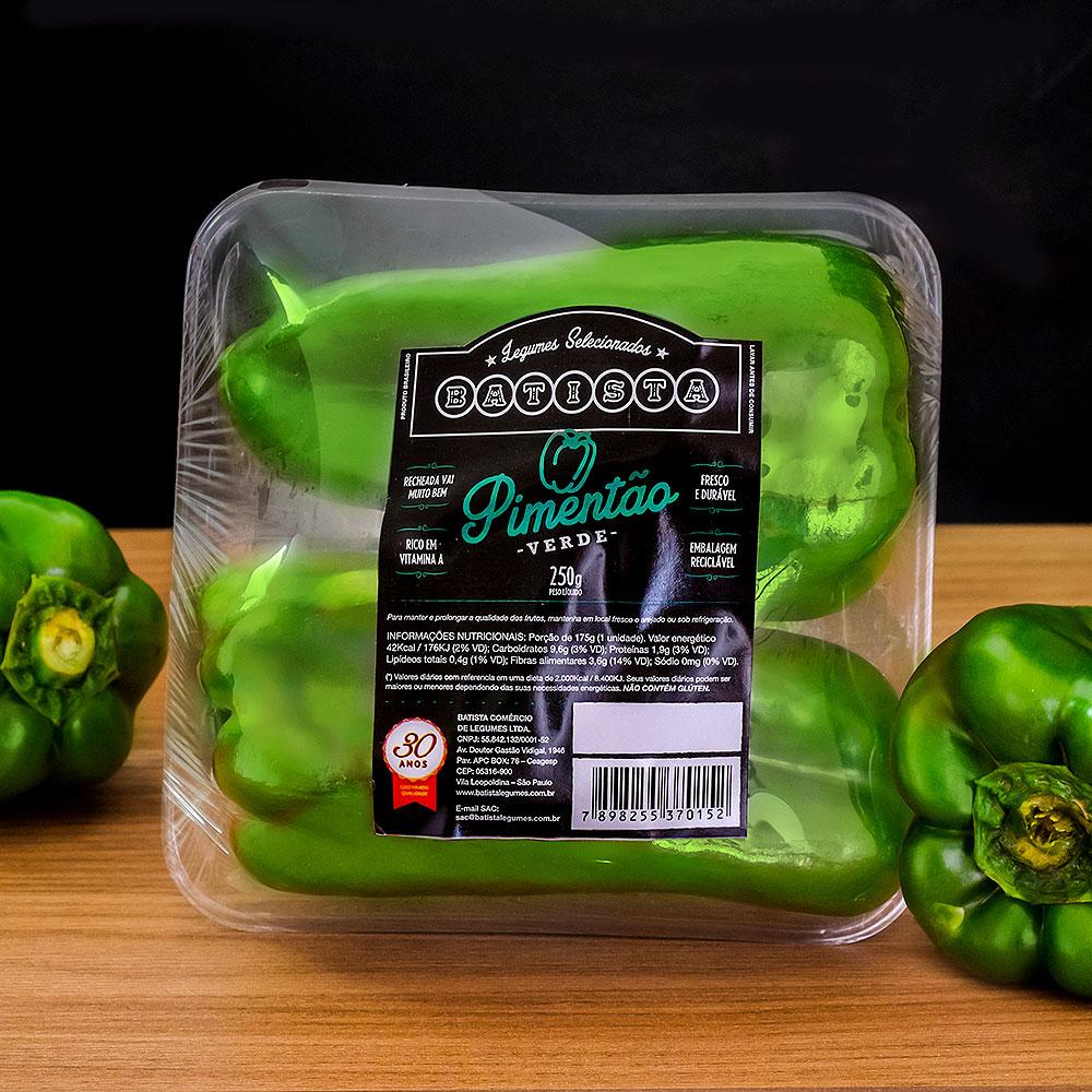 Pimentão Verde 250g